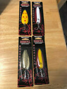 Brand New Dardevle By Eppinger 3/4 Oz To 1 Oz Fishing Spoons Lot Of Four