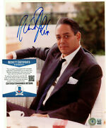 Raul Julia Authentic Signed 8x10 Photo Autographed Actor Beckett Bas Coa