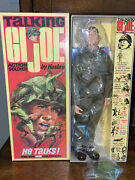 Gi Joe Talking Action Soldier Collectors Club Mint In Box