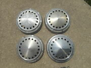 Set 4 Mopar Dodge Police Poverty Dog Dish Caps Centers Hubcaps Hub Plymouth Taxi