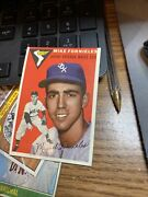 1954 Topps 154 Mike Fornieles