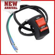 A1st 7/8 Universal Handlebar Motocycle Accident Hazard Light Switch On/off