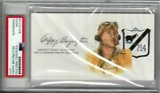 Pappy Boyington Signed Cut Signature Psa Dna Slabbed 84132129 D Wwii Ace