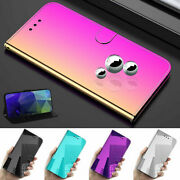 For Iphone Se 2020 11 Pro Max Xs Xr Classic Dazzling Mirror View Flip Stand Case