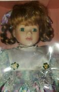 Genuine Fine Bisque Porcelain Dolls Classic Limited Edition 16.5new