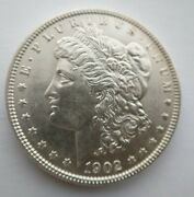 1902 P Morgan Dollar 1 Us Mint Rare Date Silver Coin 1902-p Uncirculated Ms