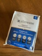 Allerease Zippered Mattress Protector Maximum Allergy And Bedbug Protection--twin