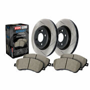 Stoptech For Infiniti G37 2011-2013 Front Brake Rotor And Brake Pads, Sold As Kit