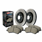 Stoptech For Audi Q5 2013-2017 Front Brake Rotors And Front Brake Pads Sold As Kit