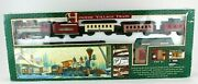New Bright Holiday Village Train 174 Battery Operated Lights Sounds Vtg 1995