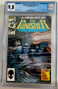 The Punisher 1 Cgc 9.8 1986 Mini Series White Pages