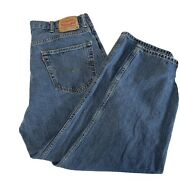 Mens 550 Relaxed Fit Blue Jeans Size 40 X 30 Actual 37x29