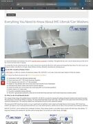 Commercial Dishwaher Sink