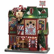 Lemax Christmas Village 2020 The Candy Cane Works 05681 Nrfb Sights And Sounds