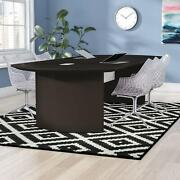 Office Conference Table Executive Curved Business Suite Modern Furniture New