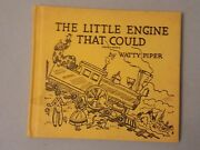 The Little Engine That Could By Watty Piper - Vintage 1961 Hardcover Good Condi