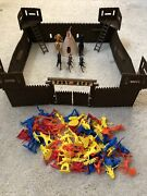Fort West Timmee Toy Cowboys And Indians 5 Horses And 73 Figures
