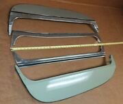 Used 71-76 Chevy Impala And Most Caprice Fender Skirts W/72 Caprice Moldings Read