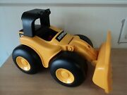 Vintage Toy State Industrial Bulldozer/tractor/backhoe Music Lights Talks Motion