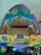 Playskool Peek N Play Discovery Dome Infant Toddler Activity Tent Gym With Toys