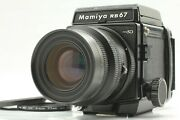 【mint+++】 Mamiya Rb67 Pro Sd W/ K/l Kl 90mm F 3.5 L 120 Film Back From Japan 750