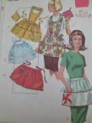Simplicity One Size Apron Sewing Pattern 6808