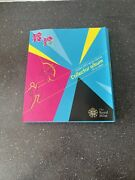 50p Olympic London 2012 Royal Mint Collectors Coin Album Complete New