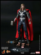 Avengers Movie 12 Inch Doll Figure Mms - Thor Avengers Movie Version Hot Toys