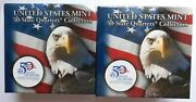 Us Mint 50 State Quarters Collection Florida Two Bu 10 Rolls P And D Mints