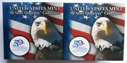 Us Mint 50 State Quarters Collection Washington Two Bu 10 Rolls P And D Mints