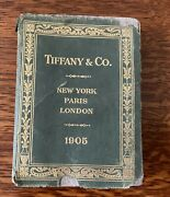 And Co Bluebook 1905 Reference Guide Antique Very Rare
