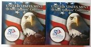 Us Mint 50 State Quarters Collection Mississippi Two Bu 10 Rolls P And D Mints