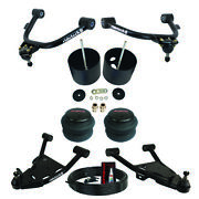 Ridetech Strongarm Front Air Ride Suspension Kit Fits 88-98 Chevy C15 Airbags