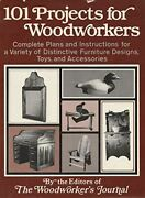 101 Projects For Woodworkers [hardcover] Woodworker's Journal