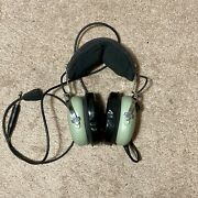 David Clark H10 13.4 Aviation Headset For Parts