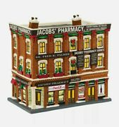 Department 56 Jacobsand039 Pharmacy Coca Cola 4044791 Christmas In The City Retired