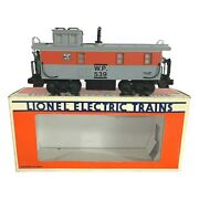 6-16539 Lionel Western Pacific Illuminated Caboose W/smoke - Pre-owned