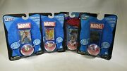 Flickers Rings Spiderman Set With Wobbler Stand Flicker Rings Marvel Set Of 4 Tf
