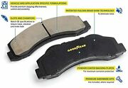 Goodyear Brakes Gyd1540es, Carbon-ceramic Front Disc Brake Pads For Fiats And Rams