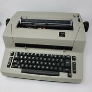 Rare Ibm Personal Selectric Ll Typewriter W/ Cover And Carrying Bag