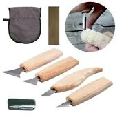 Wood Carving Cutter Chisels Polish Wax Tool Set Tools For Carpenter Beginner