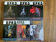 Rare B.p.r.d. Plague Of Frogs Devil You Know Hc Omnibus And Others 6 Books
