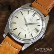 Omega Seamaster Ref.166.010 Vintage Cal.562 Date Automatic Mens Watch Auth Works