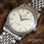 Omega Seamaster Ref.c2576-8 Vintage Cal.344 Ss Automatic Mens Watch Auth Works