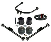 Ridetech Strongarms And Rear Airmaxxx Bags Air Ride Suspension Kit For 1958 Impala