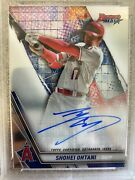 2019 Topps Bowmanand039s Best Shohei Ohtani On Card Auto Los Angeles Angels Star Mvp