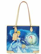 New Disney Dooney And Bourke Cinderella Carriage Shopper Tote Bag Purse Sealed