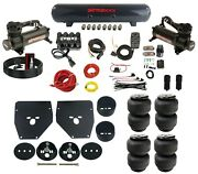 Complete Air Ride Suspension Kit Evolve Manifold Bags And Tank For 73-87 Chevy C10