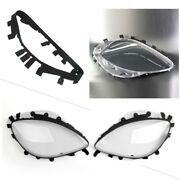 Headlight Lens Replacement Abs Covers W/rubber Gaskets For Corvette C6 2005 -13