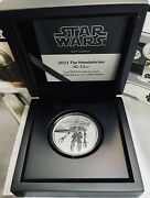 2021 Niue Star Wars Mandalorian Ig-11 1 Oz Silver Coin - Sold Out